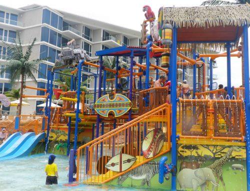 アジアリゾートのスライダー付きプールがある子連れ家族旅行おすすめホテル