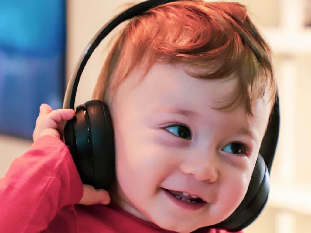 赤ちゃん用ヘッドフォン