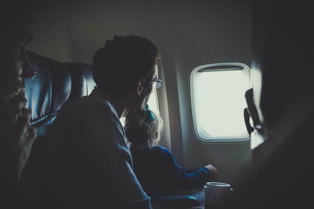 飛行機パパと一緒